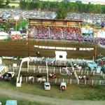 Front of Arena While in Use at 2008 Fair